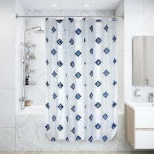 <b>Штора для ванной комнаты</b> 170х180 см цвет в ассортименте