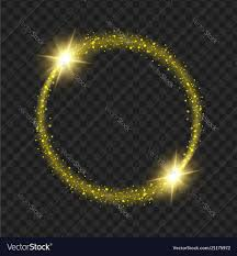 Yellow Round Light Round Yellow Glow Light Effect Stars Bursts With