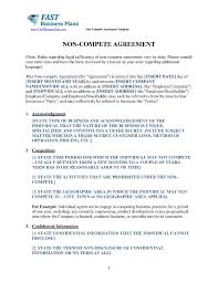 Nda Non Compete Template Download Non Compete Agreement Style 13 Template For Free At