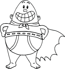 Captain Underpants Coloring Nocl New Captain Underpants Coloring