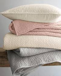 Eileen Fisher Linen Chambray Quilt and Sham I Garnet Hill   blush ... & Eileen Fisher Linen Chambray Quilt and Sham I Garnet Hill Adamdwight.com