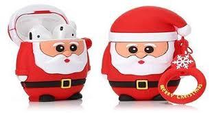 <b>Case</b> for Airpods, Santa Claus <b>Headphone Case</b>, Cute: Amazon.co ...