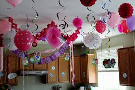 Birthday party decoration ideas at home bday simple decorating of strong  portrait