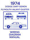 plymouth duster wiring diagrams 1974 74 plymouth duster dart wiring diagram