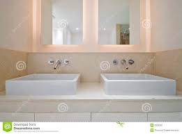 Double Bathroom Sinks Double Bathroom Sink Stock Photography Image 9334302