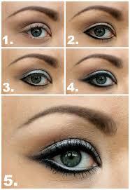 silver 60 s eye makeup