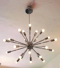 9 bulb chandelier chrome branching bubble 9 bulb chandelier lindsey adelman