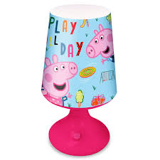 Peppa Light Details About Peppa Pig Desk Lamp Table Light Led Kids Battery Operated