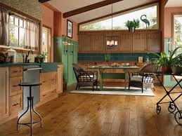 Wood Floor In Kitchen Magnificent On Floor Within Wood Floor In Kitchen