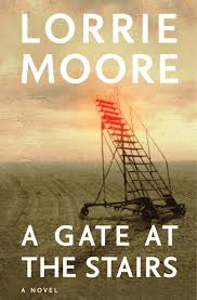 lorrie moore a gate at the stairs typography fonts for book covers