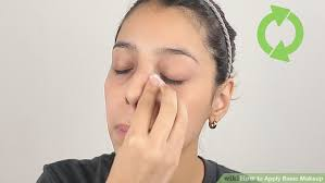image led apply basic makeup step 1