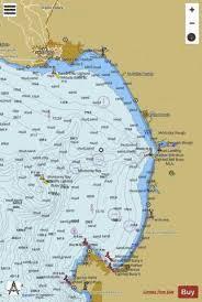 Monterey Bay Marine Chart Us18685_p1868 Nautical