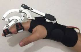 Image result for Mechanical Design of Exoskeleton for Hand Therapeutic Rehabilitation