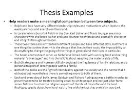 compare and contrast essay ppt video online  thesis examples help readers make a meaningful comparison between two subjects