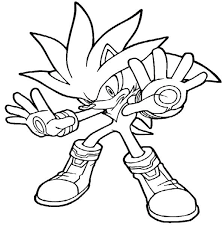 Boy Coloring Pages Sonic The Hedgehog Coloringstar