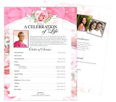 Memorial Pamphlet Template Memorial Templates Funeral Programs Free Funeral Leaflet Template
