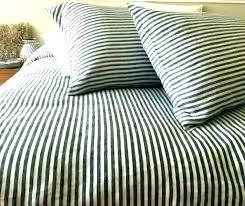 navy stripe duvet cover black and white striped duvet cover navy ticking stripe light blue navy