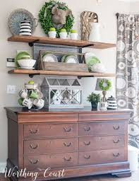 dining room chests. it\u0027s all about the green - spring in my breakfast area dining room chests a