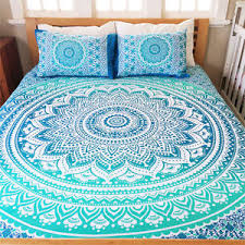 Indian Mandala Quilt Duvet Cover Bedding Cotton Single Size Doona ... & Image is loading Indian-Mandala-Quilt-Duvet-Cover-Bedding-Cotton-Single- Adamdwight.com