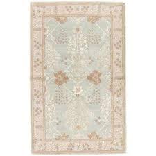 aqua gray 2 ft x 3 ft oriental area rug