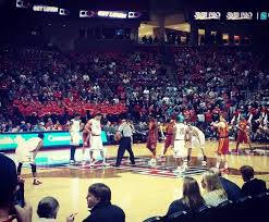 United Supermarkets Arena Section 103 Row 3 Seat 18