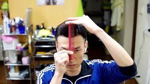 メンズショートヘアオシャレ七三刈り上げが流行最新髪型