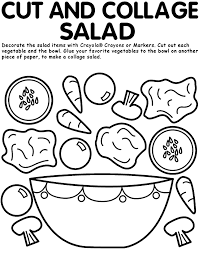 Small Picture Nutrition coloring pages to download and print for free