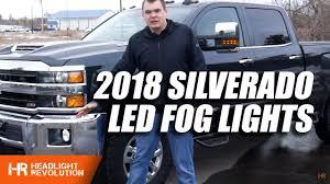 Silverado Fog Light Bulb Size 150 Brighter Led Fog Light Bulbs 2018 Silverado 3500hd Upgrade How To Installation And Review