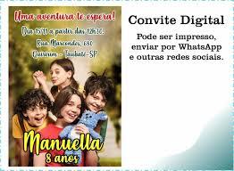 A princípio caso haja algum problema de reprodução: Convite Digital Turma Da Monica Lacos No Elo7 Guimb Artes Digitais Por Esdra Martins 1044d26