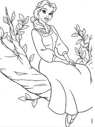 Next article dora coloring pages. Belle Coloring Pages