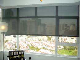 image of wide window blinds