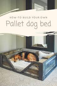 pallet dog bed save 52808