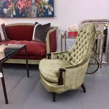 hollywood regency style furniture. Pair Of Hollywood Regency Style Tufted Velvet Chairs Furniture