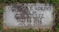 Octavia Eleanor Adkins Stultz (1867-1939) - Find A Grave Memorial