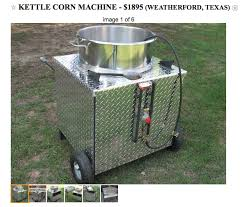 Used Vending Machines Craigslist Impressive The Top 48 Places To Find Affordable Used Kettle Corn Poppers