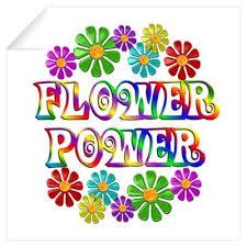 hippie art from the 60s cafepress wall art wall decals flower power on wall art flower power with hippie art from the 60s cafepress wall art wall decals