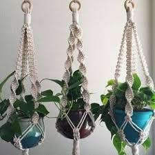Macrame Plant hangers are definitely a thing that I've been sleeping on, as  in not focusing on enough. These are headed to and I also have 12 on order  from ...