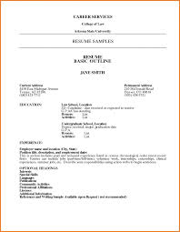 Example Resume For High School Students College Applications