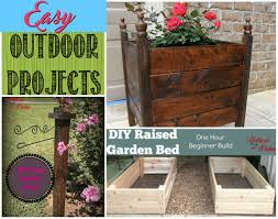 Diy Outdoor Projects Easy Diy Outdoor Projects Gathered In The Kitchen