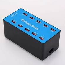 the <b>power 10 port</b> smart usb charger