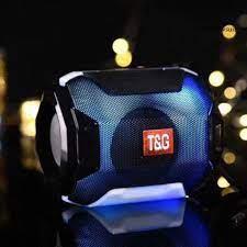 Loa Bluetooth Không Dây Tg162 Âm Thanh Stereo Kiêm Đèn Led - Loa