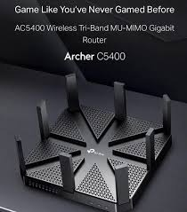 ac5400. tp-link archer ac5400 wireless tri-band mu-mimo gigabit router - quality ac5400 d