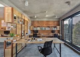 Design Thoughts Architects Bangalore Betweenspaces Bangalore Studio Has Folding Steel Shutters