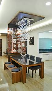 Kitchen And Dining Room Designs India Dining Ceiling Design Living Room Dining Room Design Decor