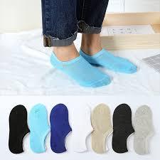 <b>1 Pairs</b>/<b>lot</b> Spring <b>Summer Men</b> Cotton Ankle Socks For <b>Men's</b> ...