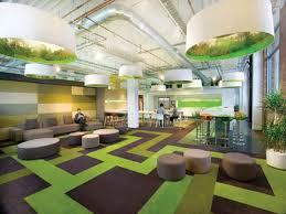 office floor design. Brown And Green Floor Carpet Tile Design In Minimalist Office A