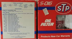 Stp Cross Reference Oil Filter Jonathan Steele