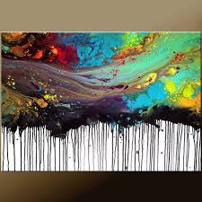 beautiful artwork hand painted abstract painting on canvas best abstract modern painting for wall decorative