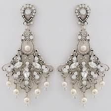 antique wedding chandelier earrings