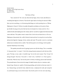 poetry explication essay example how to write an about a poem  poetry explication essay example how to write an about a poem 15075